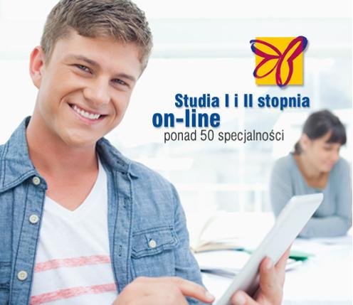 Najszersza oferta studiów on-line w Polsce!